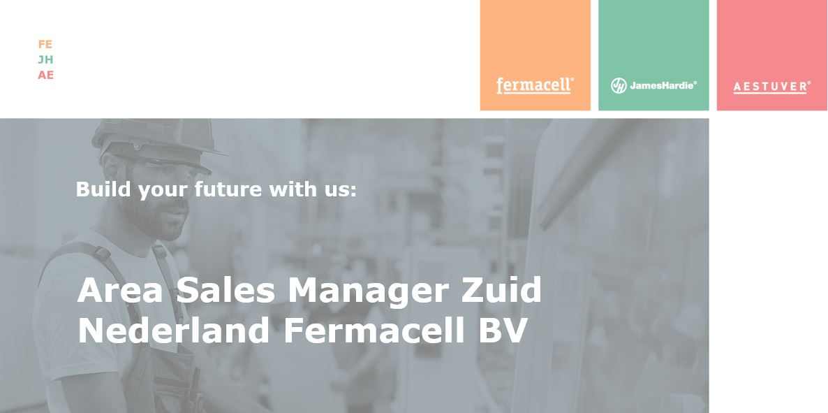 Area Sales Manager Zuid Nederland